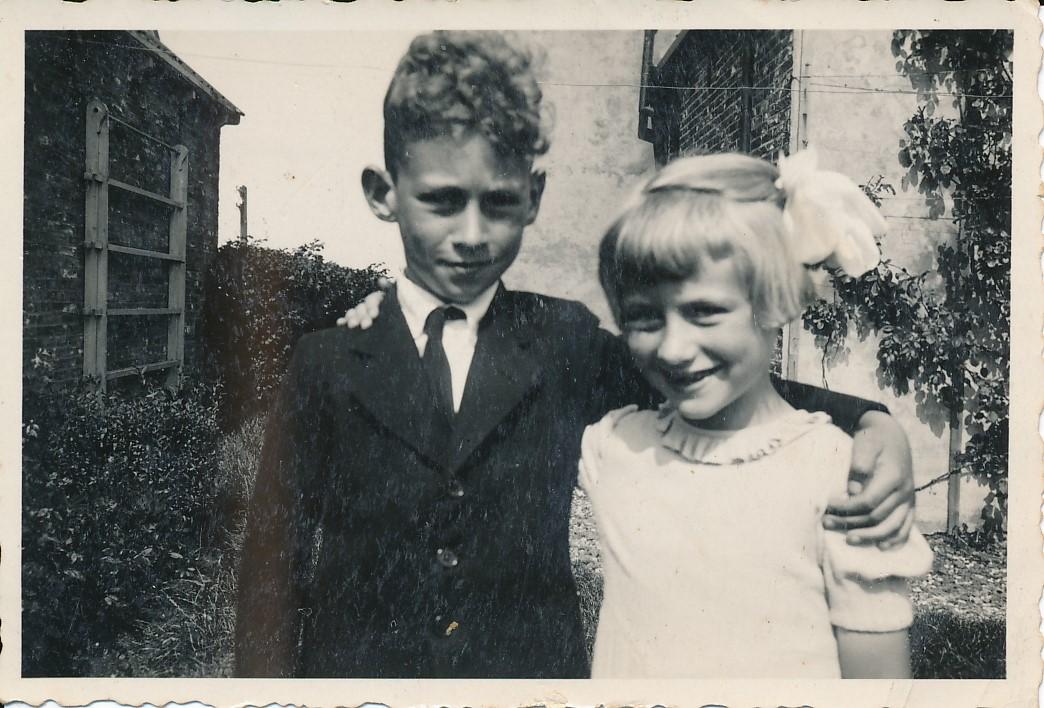 Fotoalbum Andre Kamsma, 024, Andre en Julia Kamsma, jier 1936-1937