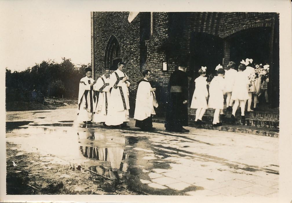 Fotoalbum Andre Kamsma, 028, Eerste plechtige heilige mis, 12-07-1936