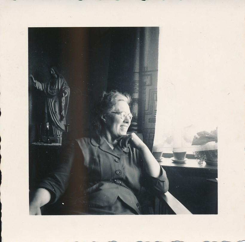 Fotoalbum Andre Kamsma, 045, Anna Kamsma-Tekstra,1954