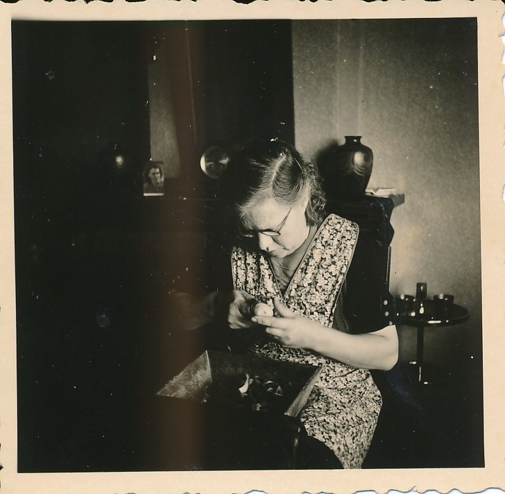 Fotoalbum Andre Kamsma, 046, Anna Kamsma-Tekstra,1954
