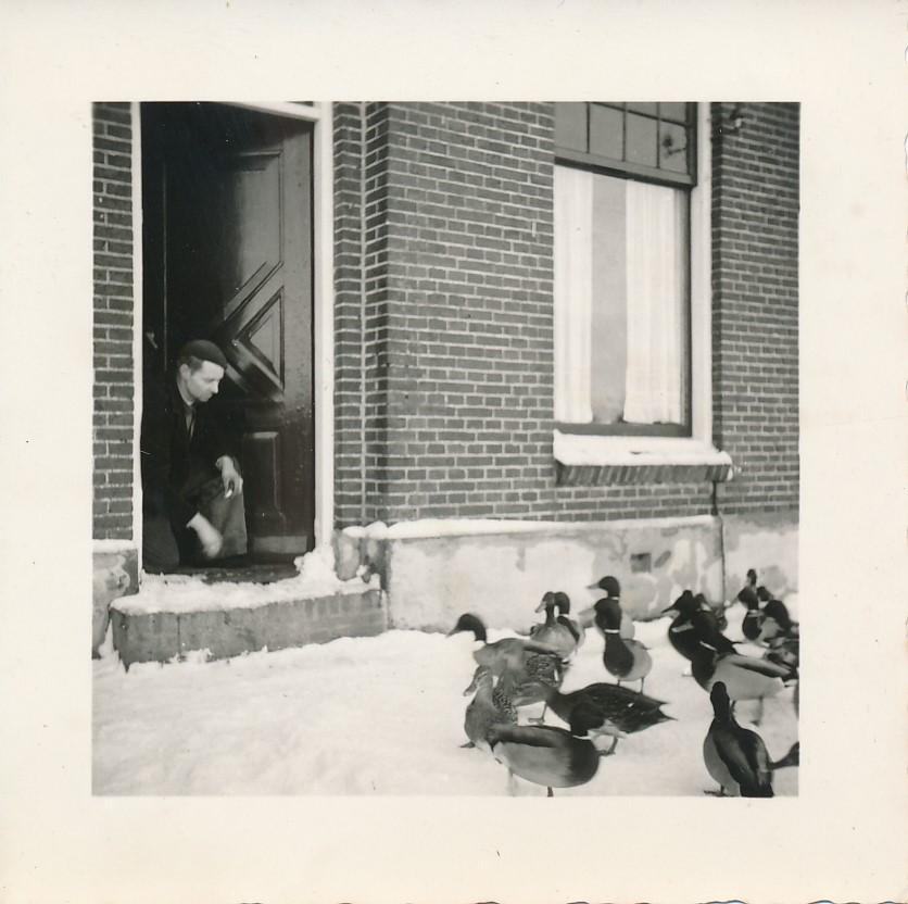 Fotoalbum Andre Kamsma, 072, Frittie Hoekstra, Dilledyk, jier 1955-1956