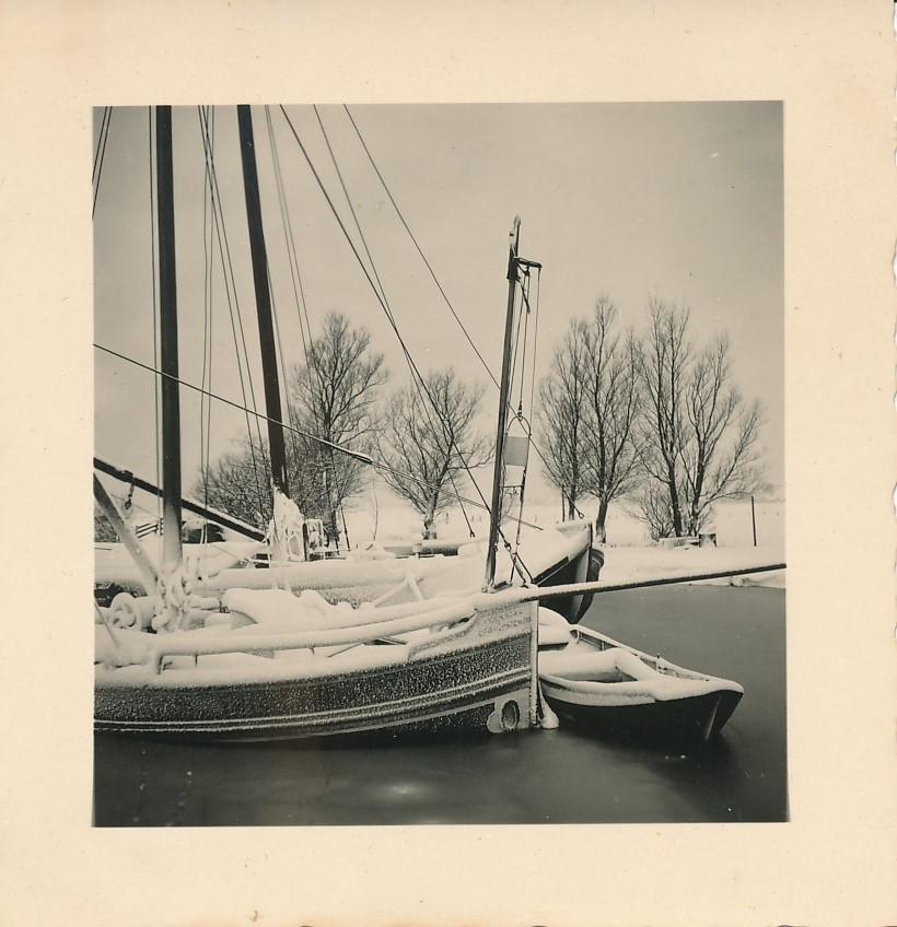 Fotoalbum Andre Kamsma, 073, Winter yn Easterwierrum, De Dille, jier 1955-1956