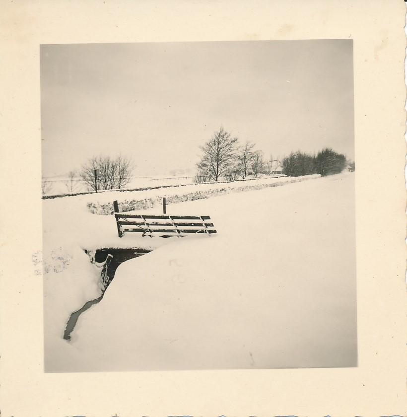 Fotoalbum Andre Kamsma, 076, Winter yn Easterwierrum, Dilledyk, 1955-1956