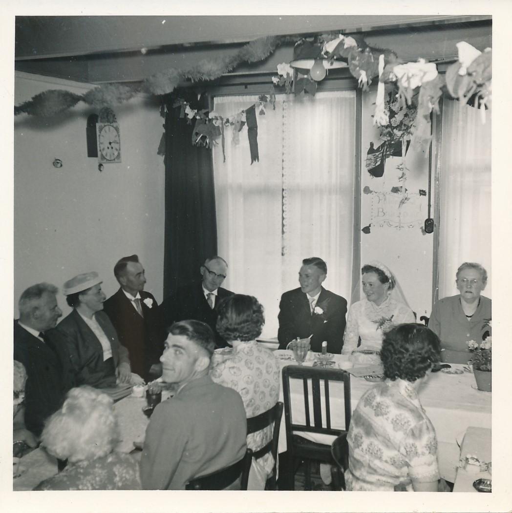 Fotoalbum Andre Kamsma, 085, Houliksfeest fan Meinte en Julia, july 1957