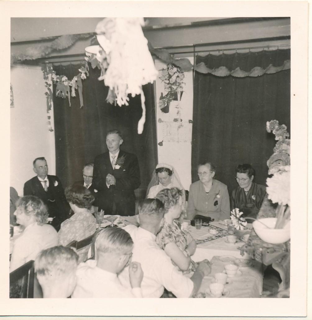 Fotoalbum Andre Kamsma, 086, Houliksfeest fan Meinte en Julia, july 1957