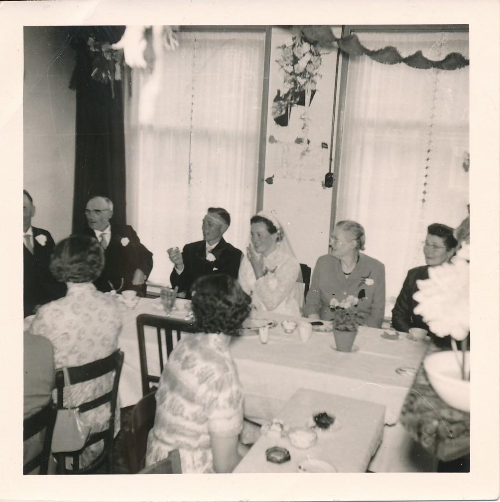 Fotoalbum Andre Kamsma, 087, Houliksfeest fan Meinte en Julia, july 1957