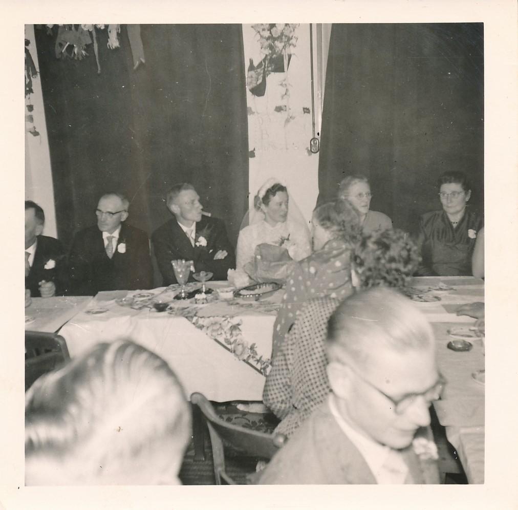 Fotoalbum Andre Kamsma, 088, Houliksfeest fan Meinte en Julia, july 1957