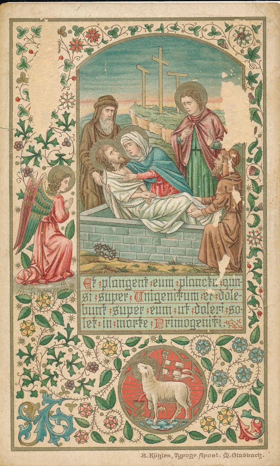 Fotoalbum Andre Kamsma, 115, Gedachtenis fan aan de heilige missie te Oosterwierum,1895, Eerste eeuwfeest parochie