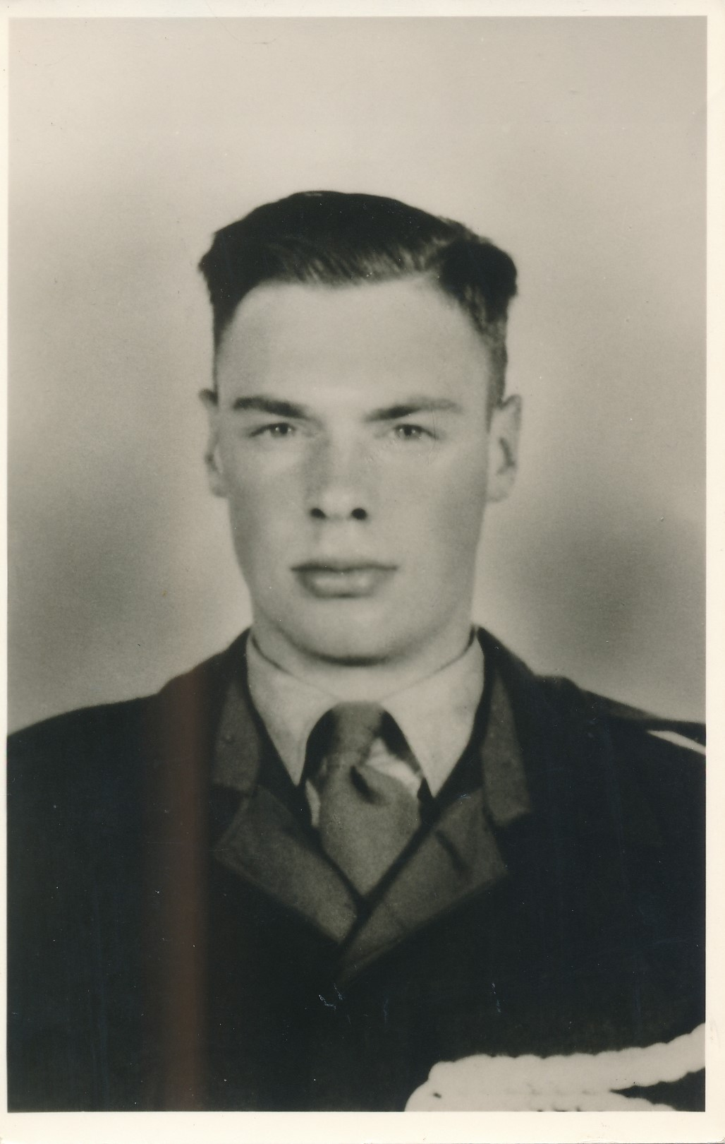 Fotoalbum Andre Kamsma, 134, Lauw Kamsma by de militaire tsjinst, Maresjesjee, 1955