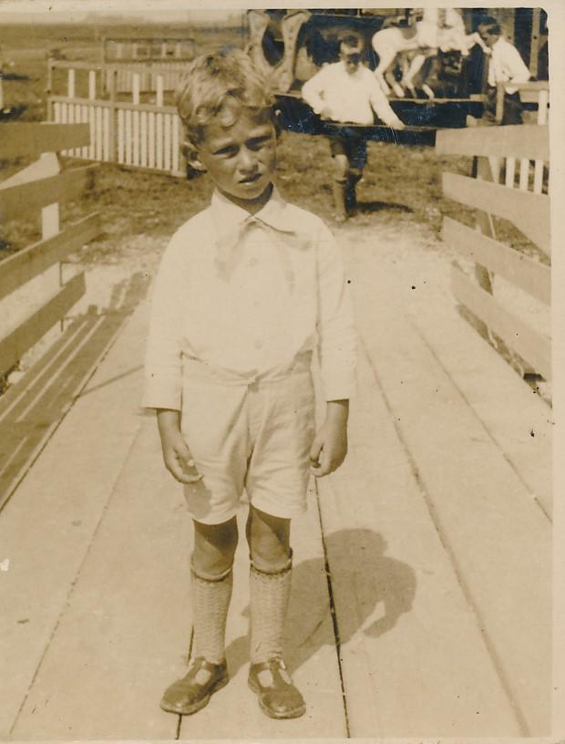 Fotoalbum Andre Kamsma, 147, Andre Kamsma op de merke 1935-1936