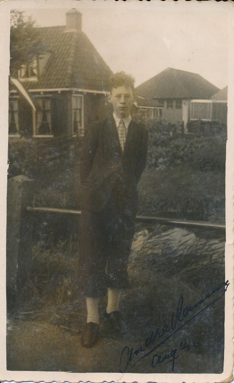 Fotoalbum Andre Kamsma, 150, Andre Kamsma, 15-08-1946, Op e Dille