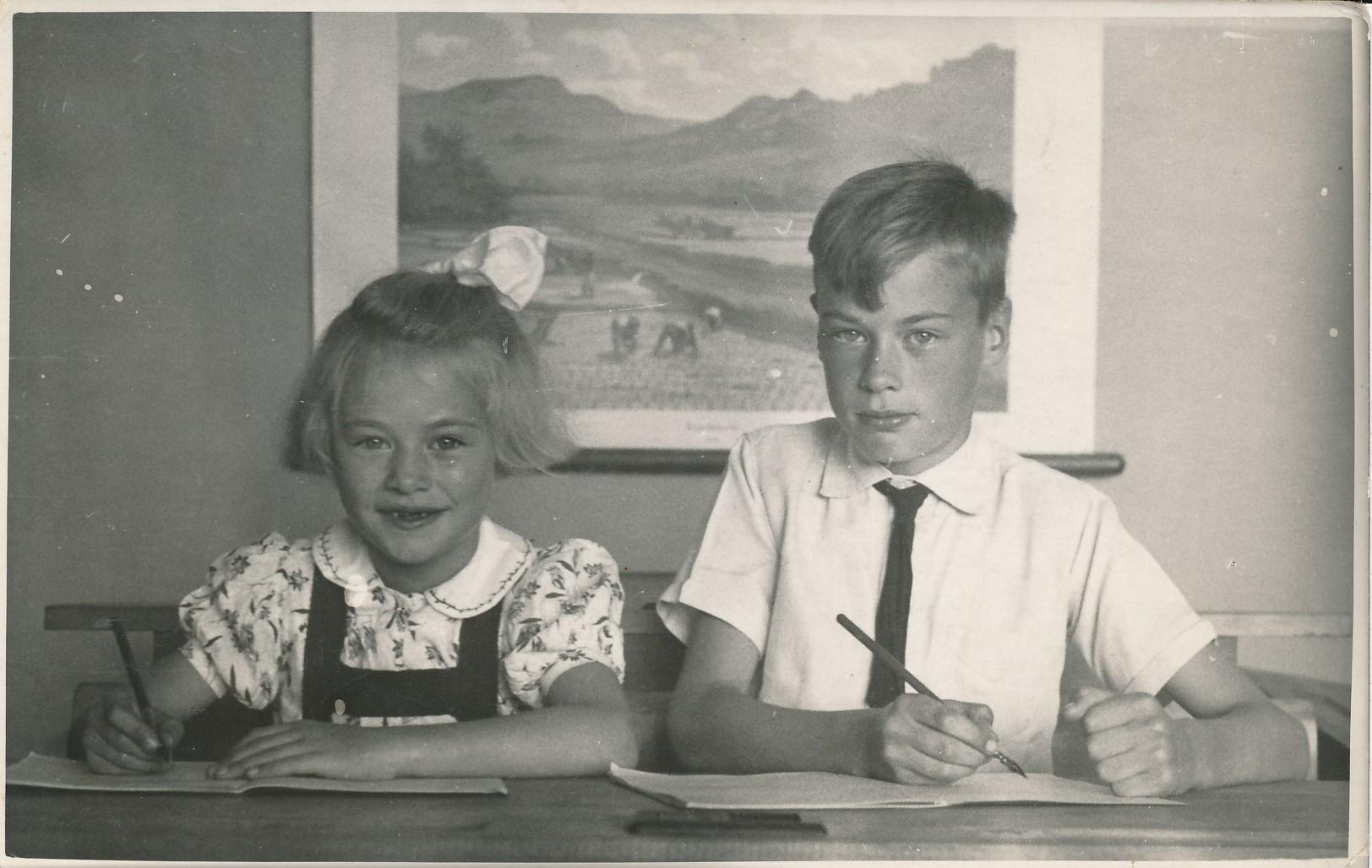 Fotoalbum Andre Kamsma, 160, septimber 1946, Rjimke en Lauw Kamsma