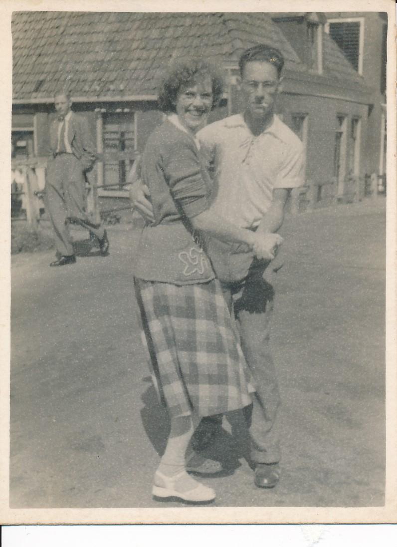 Fotoalbum Andre Kamsma, 162, Merke 1950, Kriske Palstra en Andre Kamsma