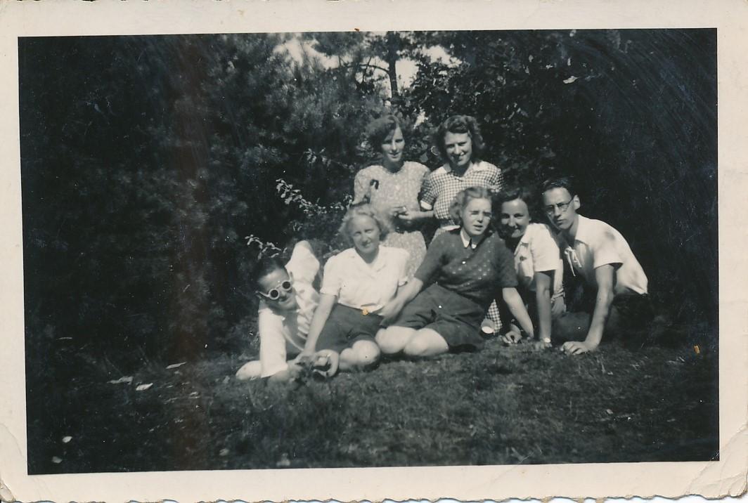 Fotoalbum Andre Kamsma, 163, Op fakânsje yn Nijverdal, 1950