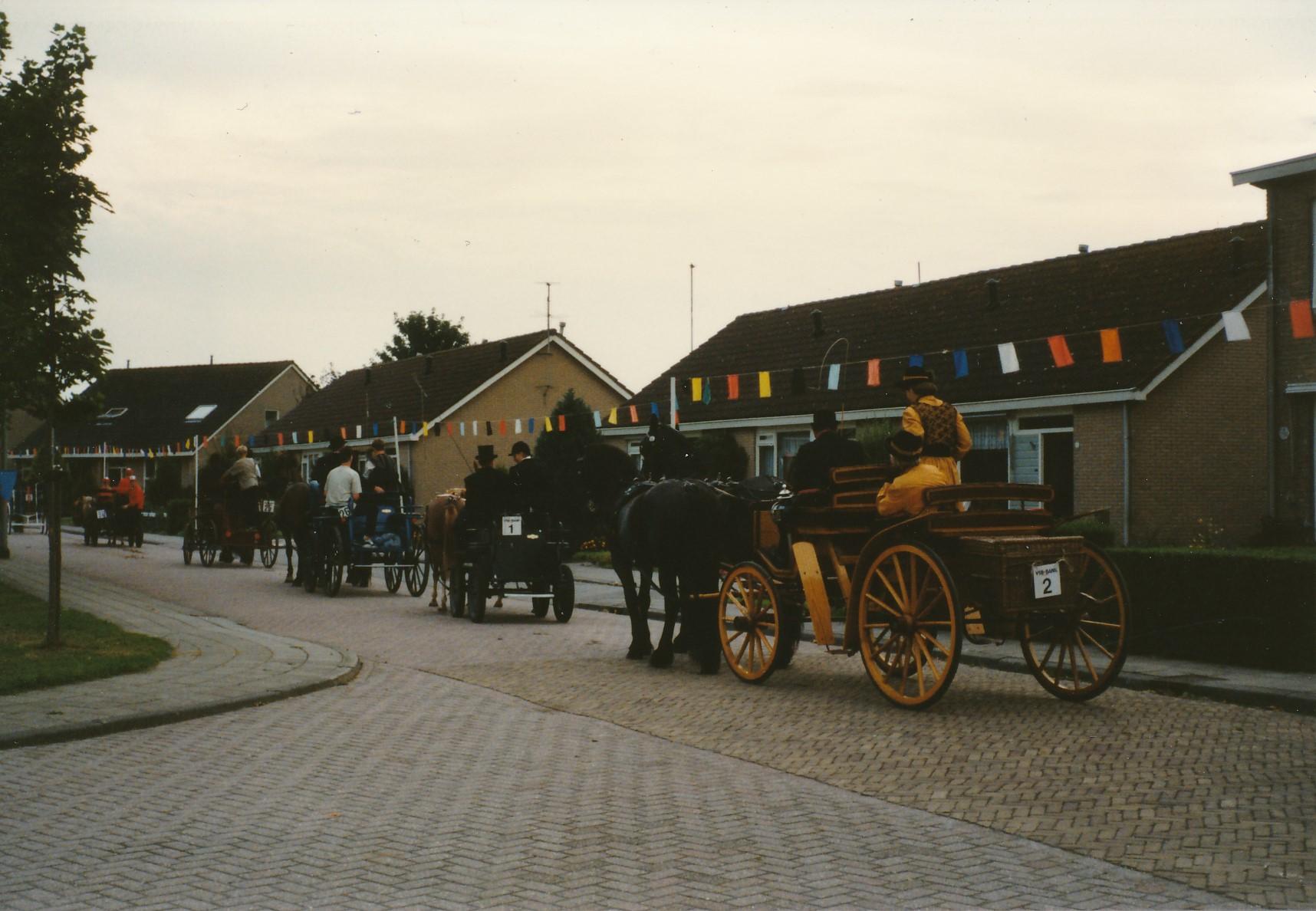 Fotoalbum Anneke Miedema, 030, Ringstekke yn e buorren, Merke 1996