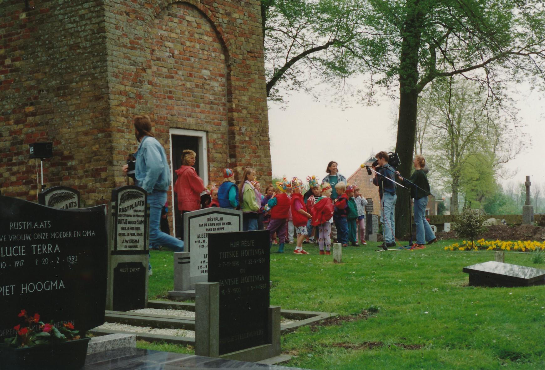 Fotoalbum Anneke Miedema, 043, Iepening klok Ald Toer, 1994