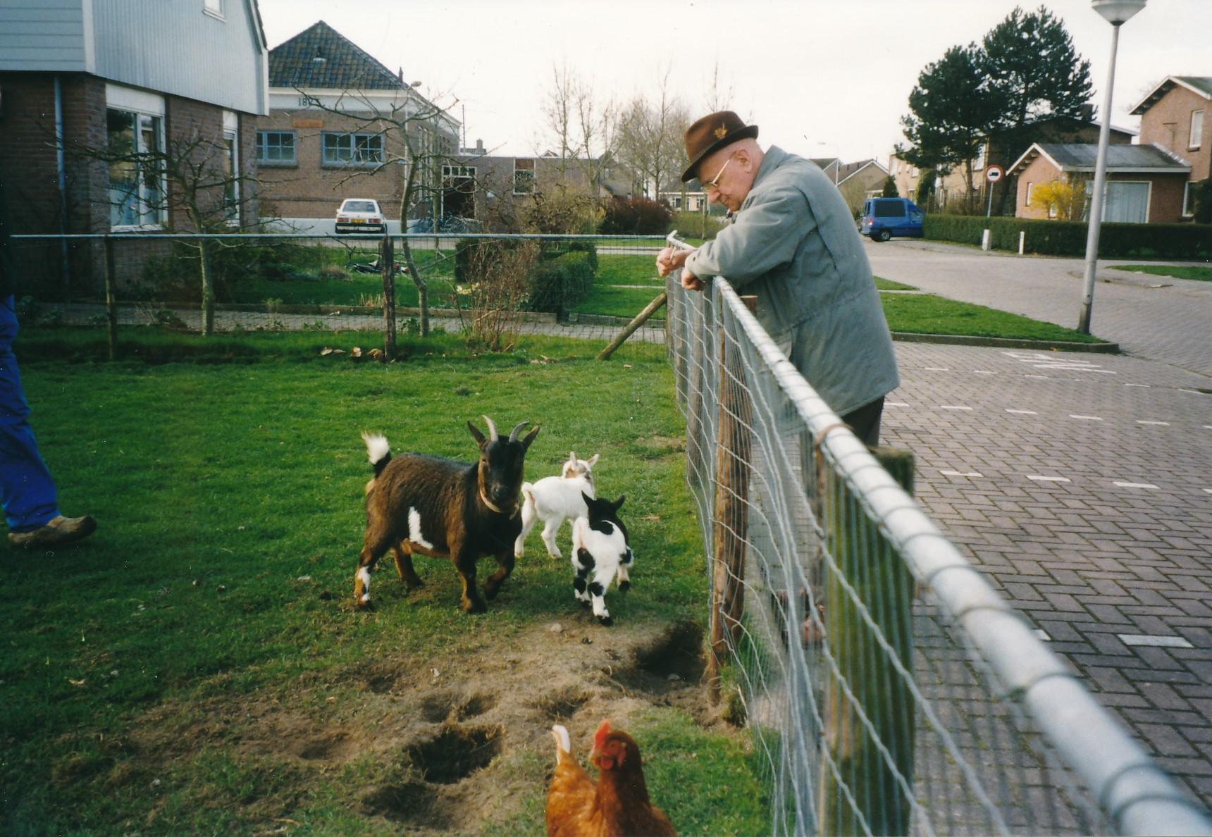 Fotoalbum Anneke Miedema, 056, de heer Ton Planken, 03-06-1998