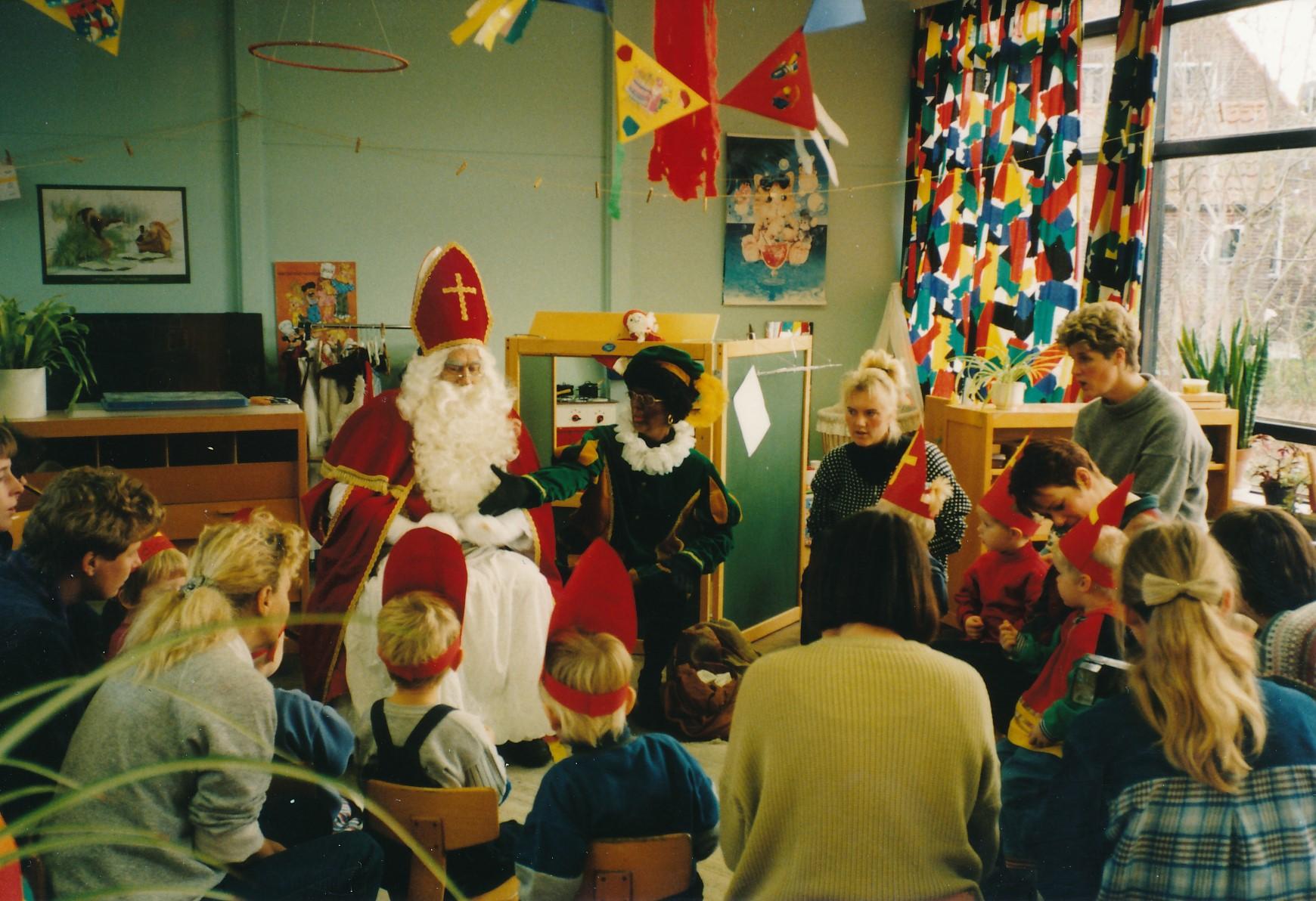 Fotoalbum Anneke Miedema, 117, Sinterklaas, 1995
