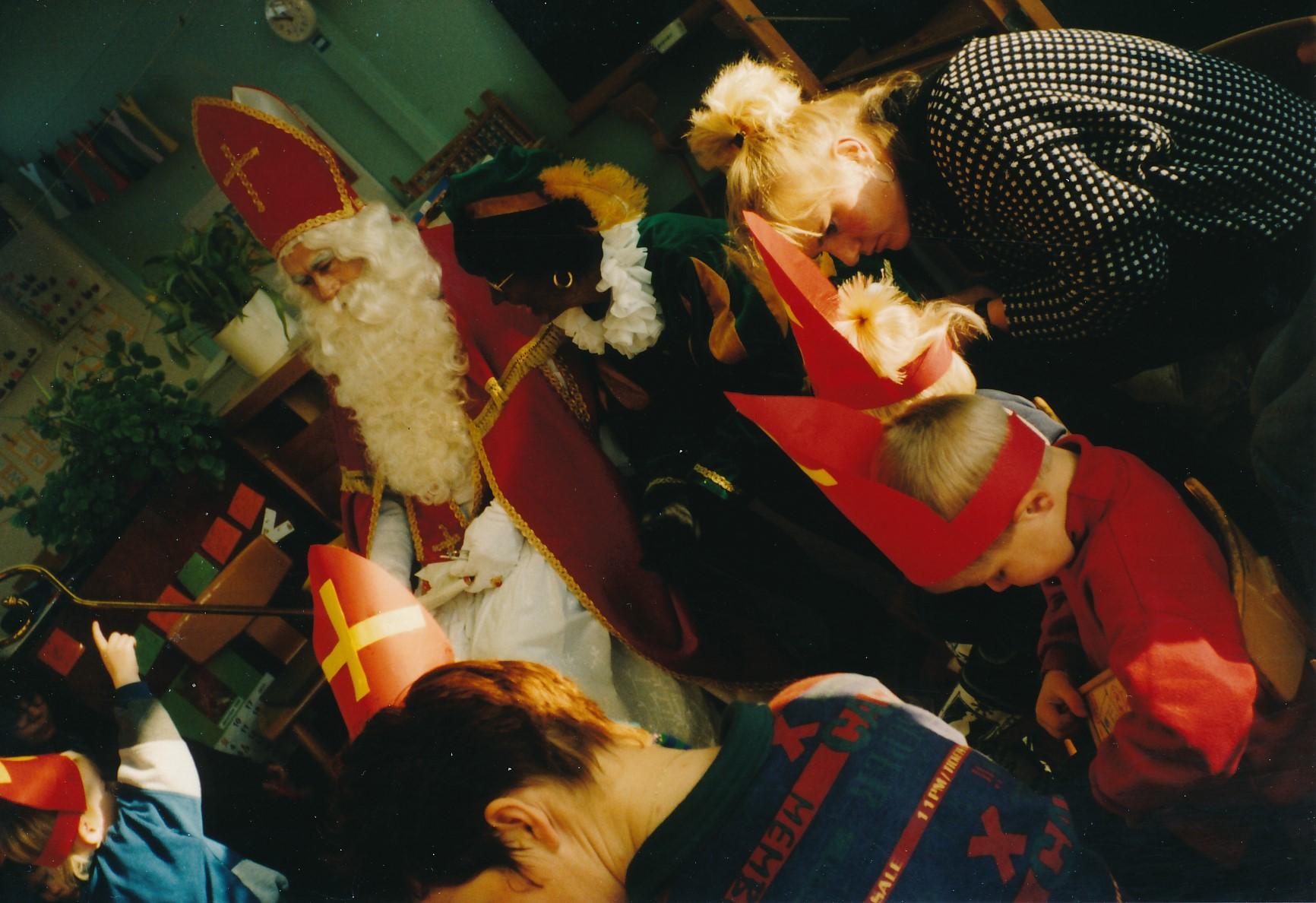 Fotoalbum Anneke Miedema, 118, Sinterklaas, 1995