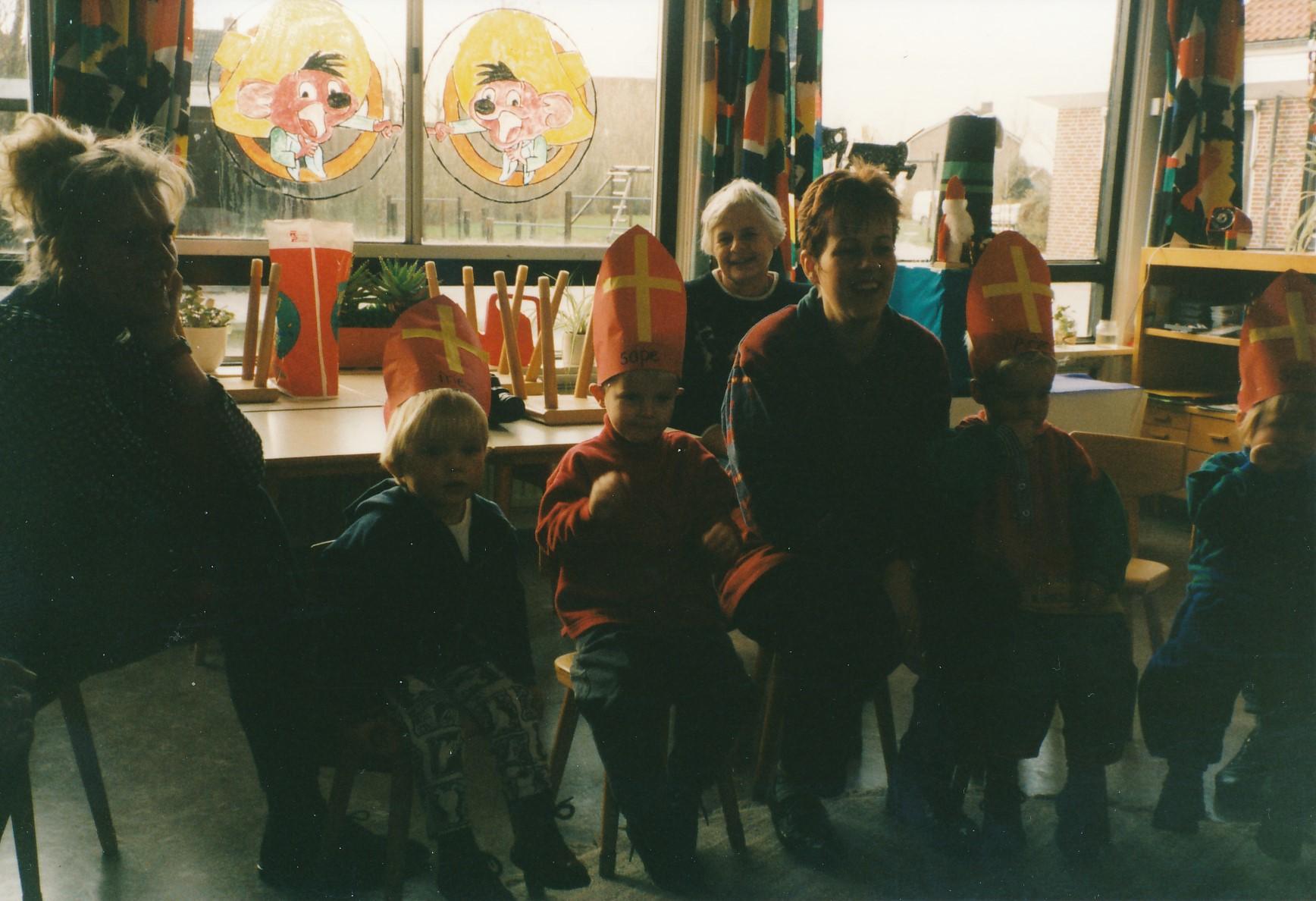 Fotoalbum Anneke Miedema, 119, Sinterklaas, 1995