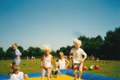 Fotoalbum Anneke Miedema, 008, Merke 1997, augustus, Sybrich, Friso, Nynke, Arjen, Jitske en Ada