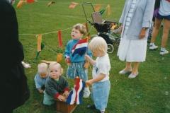 Fotoalbum Anneke Miedema, 020, Sjoerd Rozenberg, Jitske Miedema, Doortje Douma, Merke 1991