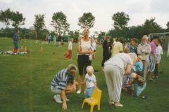 Fotoalbum Anneke Miedema, 023, Geeske, Harmina en Broeder Titus, Jitske Miedema, Merke 1991