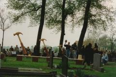 Fotoalbum Anneke Miedema, 042, Iepening klok Ald Toer, 1994