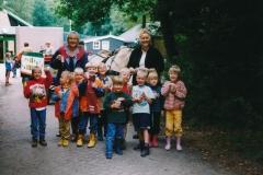 Fotoalbum Anneke Miedema, 057, Sape Miedema, Rianne Melein, Hidde de Vries, Arjen Schoustra, Feike Zijlstra, Jelmer Jongste, Ate Boersma, Sassia Abbing en Dineke Nauta, Juf Rigt