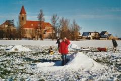 Fotoalbum Anneke Miedema, 084, Sape, Jitske en Wierd Miedema, winter 2001-2002