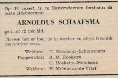 Fotoalbum-Gjetje-Wondaal-Hoekstra-019-Rouwadvertinsje-Arnoldus-Schaafsma