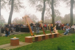 Fotoalbum Jan en Marja Schotanus, 008, Ynweiding liedklok, 1993-1994