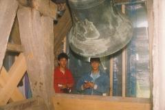 Fotoalbum Jan en Marja Schotanus, 037, Pleatsing en restauraasje klokken âld Toer