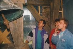 Fotoalbum Jan en Marja Schotanus, 039, Pleatsing en restauraasje klokken âld Toer
