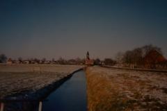 Fotoalbum Piet van der Meer 12, Doarpsgezicht fanôf de Dille besjoen