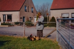 Fotoalbum Piet van der Meer 16, Buurman Planken by de hinnen, 2003