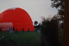 Fotoalbum Piet van der Meer 21, Ballonvaart, jaar onbekend