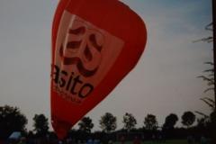 Fotoalbum Piet van der Meer 22, Ballonvaart, jaar onbekend