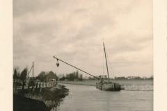 Fotoalbum Sytse Alberda, 001, Skûtsje van Hoekstra, januari-maart 1962