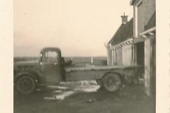 Fotoalbum Sytse Alberda, 004, Auto nei oanrieding op Bozumerwerg, januari-maart 1962