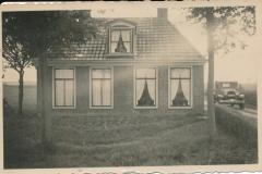 Fotoalbum Sytse Alberda, 016, Foarkant fan it hûs Alberda, 30 maaie 1936