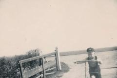 Fotoalbum Sytse Alberda, 046, Sytse Alberda op de autopet