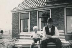 Fotoalbum Sytse Alberda, 054, Sytse en heit