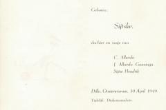 Fotoalbum Sytse Alberda, 068,bertekaartsje Sijtske Alberda