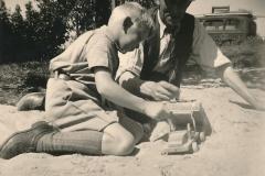 Fotoalbum Sytse Alberda, 090, Sytse, july 1952