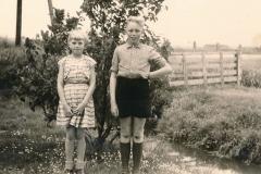 Fotoalbum Sytse Alberda, 110, Sytse en sus, 05-06-1958