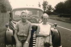 Fotoalbum Sytse Alberda, 114, Auto hierd fan Sypersma nei Drinte, 1959
