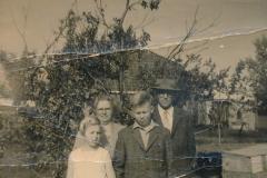 Fotoalbum Sytse Alberda, 117, Heit en Mem 25 jier trouwt, 1960