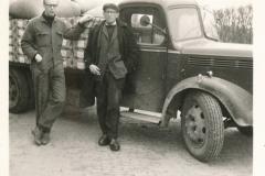 Fotoalbum Sytse Alberda, 145, frachtwein fan fam. Alberda, 29-05-1969