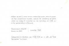 Fotoalbum Sytse Alberda, 150, Troudei 21-11-1969 Sytse en Anneke
